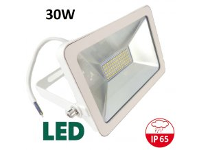 LED Reflektor 30W bílý profi maxlumen.cz