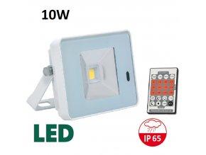 LED reflektor s pohybovym cidlem bily RLHJ10W BI HF 4100 maxlumen.cz
