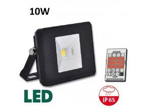LED reflektor s pohybovym cidlem cerny RLHJ10W BI HF 4100 maxlumen.cz