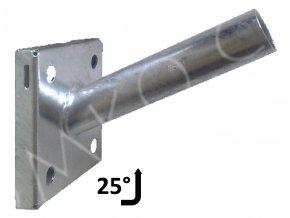 vyloznik na zed 38mm 25 stupnu