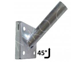 vyloznik na zed 38mm 45 stupnu