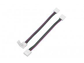RGBW spojka click 10mm s kabelem