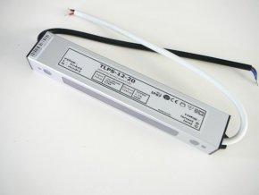 LED zdroj, trafo,20W, 12V IP67 venovní voděodolný MaxLumen.cz