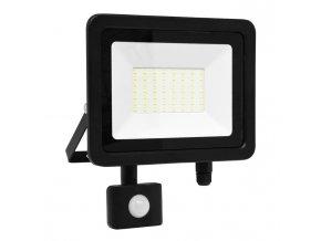 LED reflektor vč. PIR,50W,5000K,IP65,4100Lm