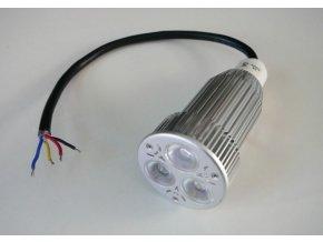 RGB LED žárovka 12W 60° 12VDC