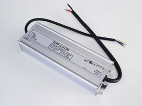 LED zdroj, trafo,150W, 12V IP67 venovní voděodolný MaxLumen.cz