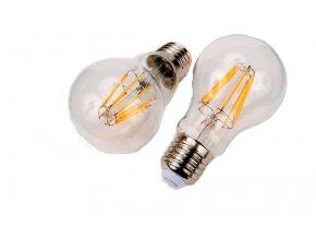 LED žárovka E27 DIMF8W FILAMENT TEPLÁ BÍLÁ