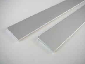 LED profil plochý ELOX 15x2 pro led pásky maxlumen.cz