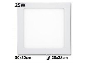 LED PANEL 25W rafa maxlumen.cz praha bily downlight