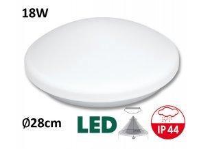 LED stropni nastenne svitidlo victor LED pohybove cidlo teplá denní bílá maxLumen.cz