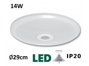 VERA SMD WHST78 LED stropní nástenné svítidlo MaxLumen.cz s PIR čidlem pohybu