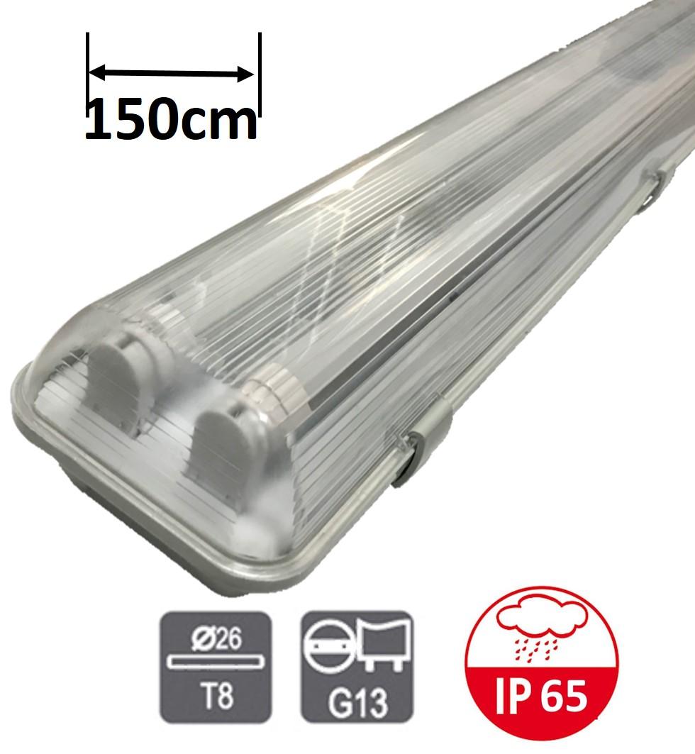 zářivkové svítidlo Greenlux TRUST EVG PS 2x58W| MaxLumen.cz