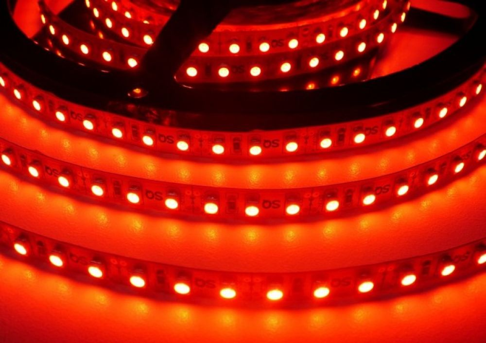 LED pásek ST 3,5W 230V venkovní IP67 | MaxLumen.cz Barva světla: červená