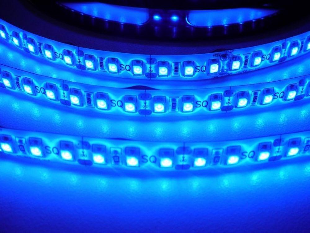 LED pásek ST 3,5W 230V venkovní IP67 | MaxLumen.cz Barva světla: modrá