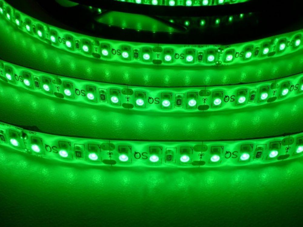 LED pásek ST 3,5W 230V venkovní IP67 | MaxLumen.cz Barva světla: zelená