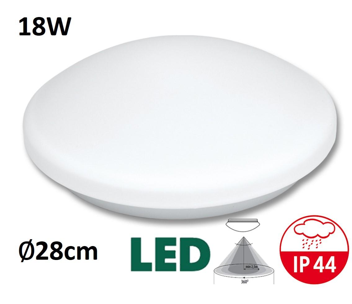 Stropní a nástěnné svítidlo VICTOR LED W131/LED 18W | MaxLumen.cz Barva světla: teplá bílá