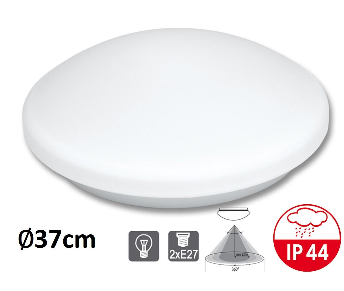 Stropní a nástěnné svítidlo VICTOR W141-BI čidlo 2xE27 | MaxLumen.cz