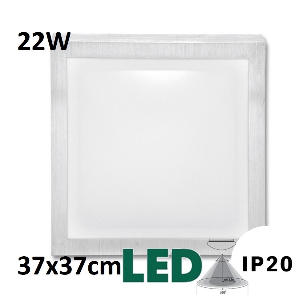 Stropní a nástěnné svítidlo BELA WD002/LED 22W HF čidlo | MaxLumen.cz