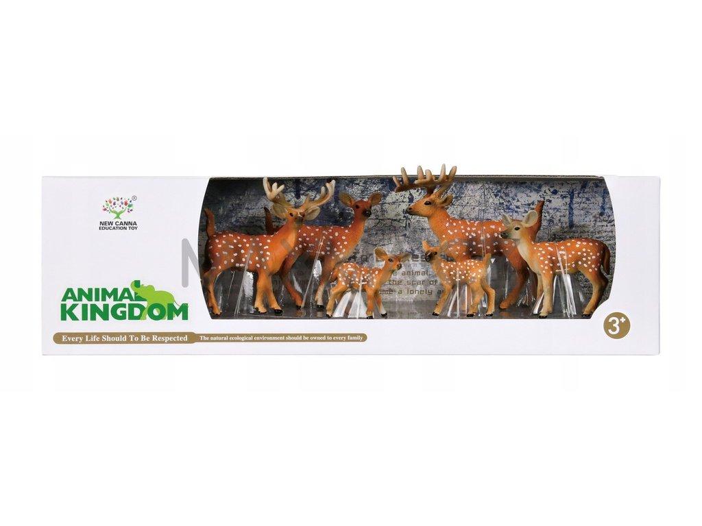 Animal Kingdom sada figur zvířátek Jelen