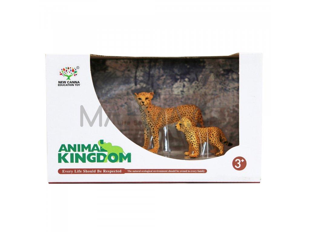 Animal Kingdom sada figur zvířátek Gepard 2 ks