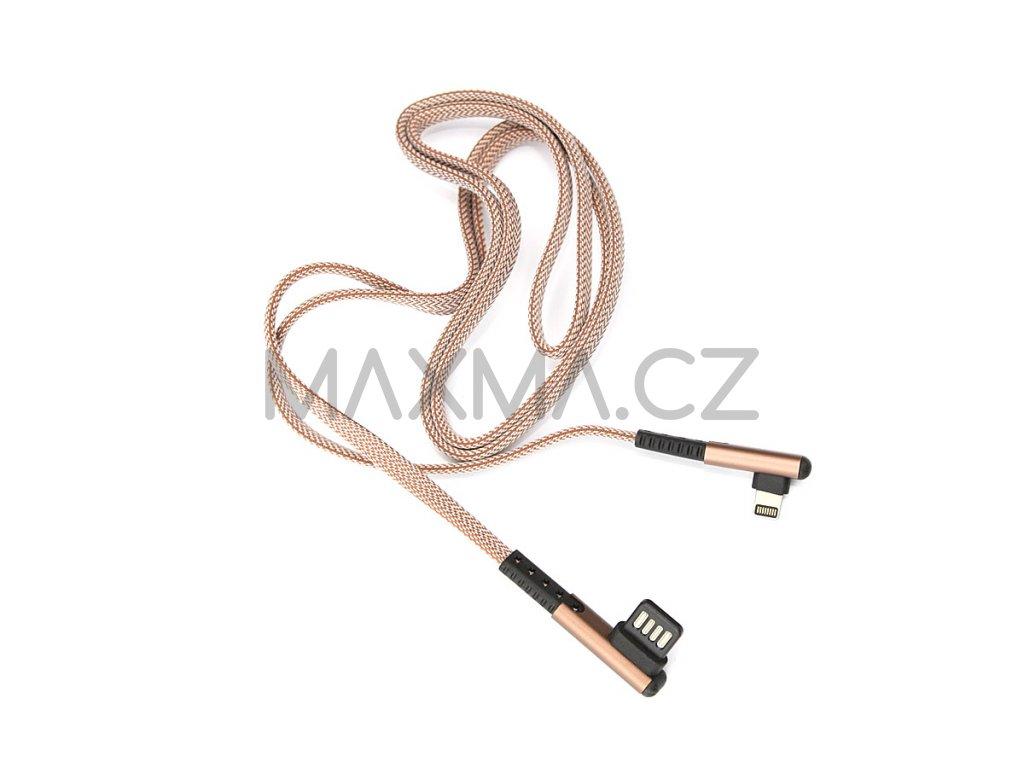 Kouvolsen kabel USB / Lightning (X29) 1m - hnědý