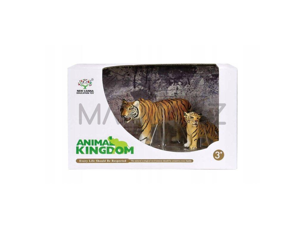 Animal Kingdom sada figur zvířátek Tygr 2 ks
