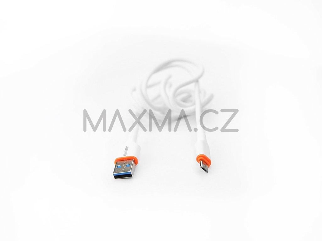 Kouvolsen kabel USB / micro-USB (X41) 1m - bílý