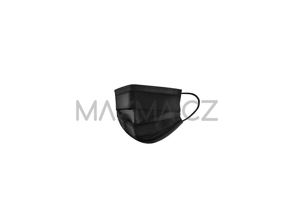 black looped mask