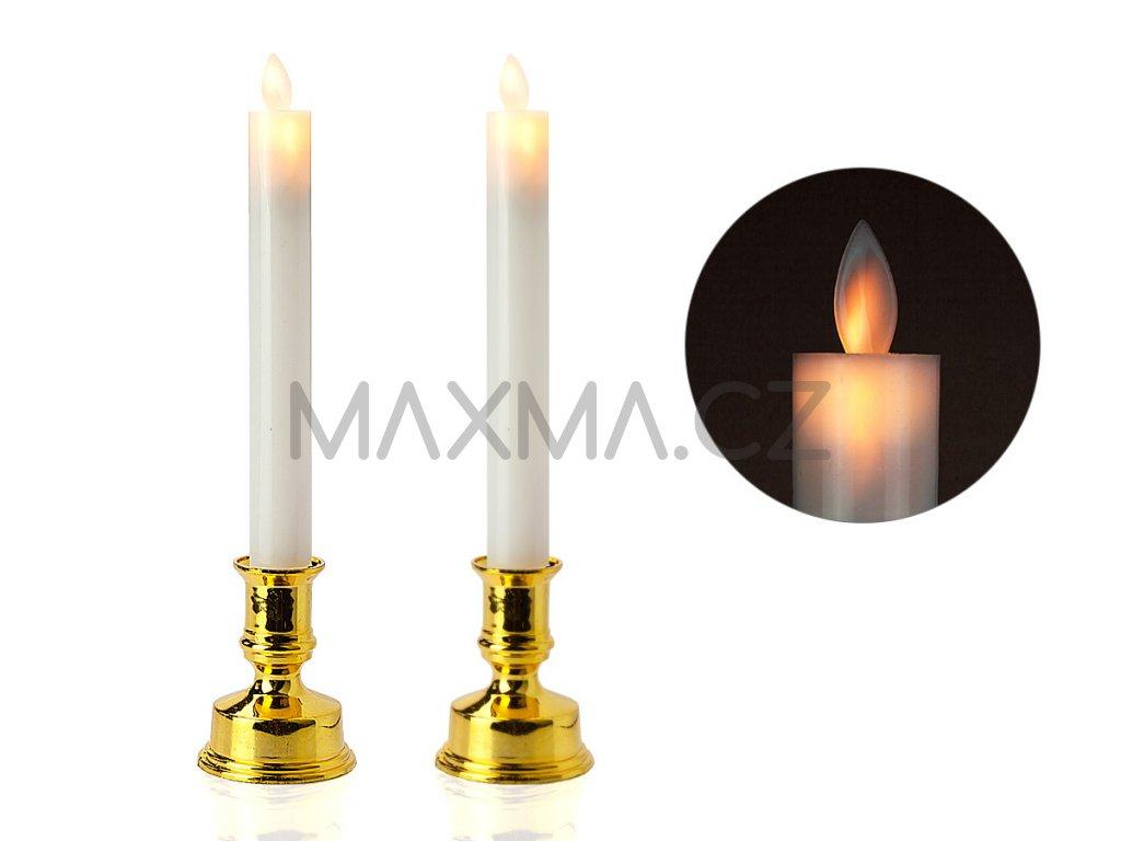 LED Svíčka 2 ks
