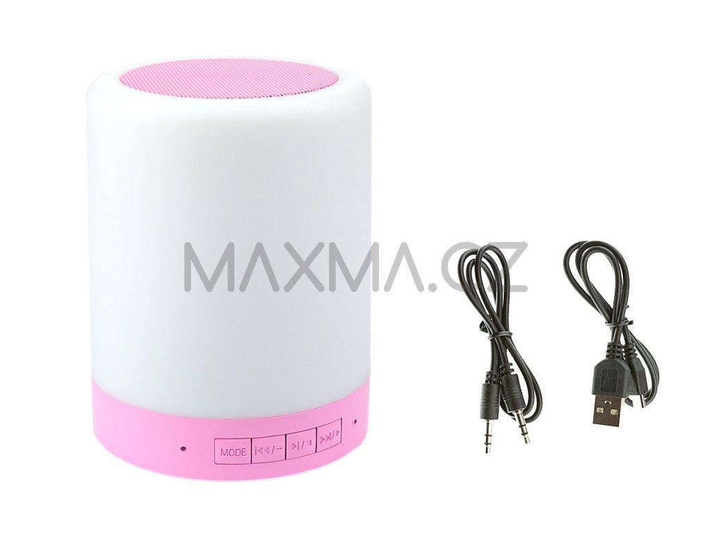 Smart music Lamp - Bílá/růžová