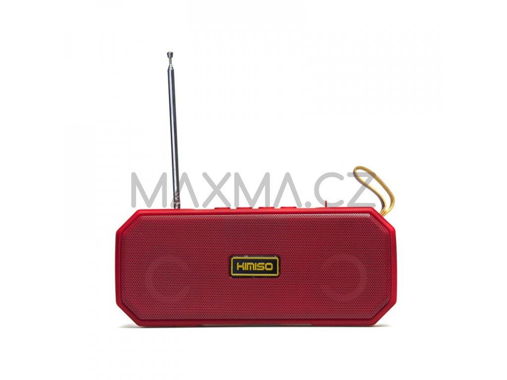 Kimiso Bluetooth rádio reproduktor (KMS-221) - červený
