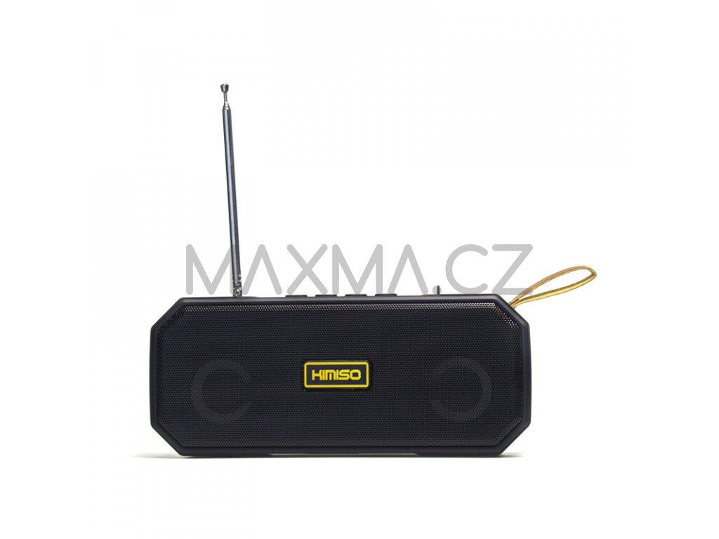 Kimiso Bluetooth rádio reproduktor (KMS-221) - černý