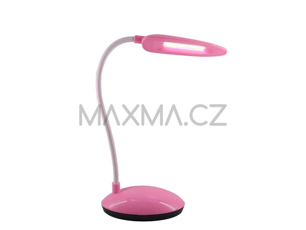 LED lampa na stůl (6506) - růžová