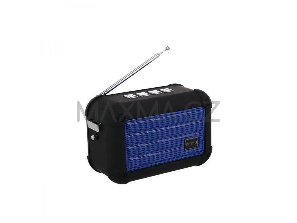 Kimiso Bluetooth reproduktor (KMS-E98) - modrý