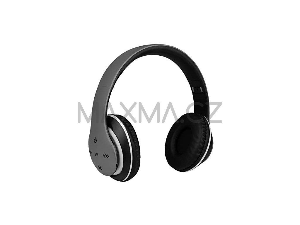 Bezdrátová sluchátka (P351) - šedá