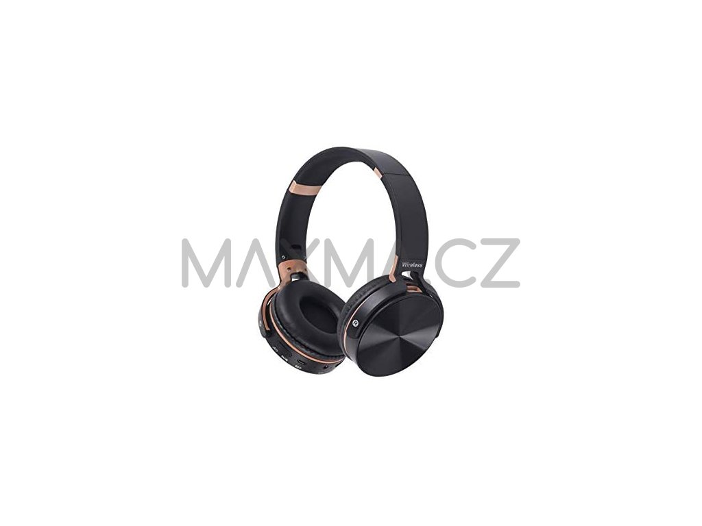 Pangpai bezdrátová sluchátka (JB950) - černá
