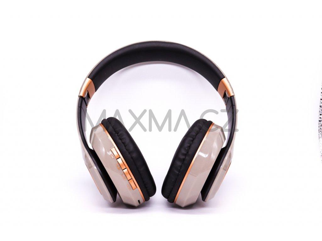 Bezdrátová sluchátka (PV33) - šedá