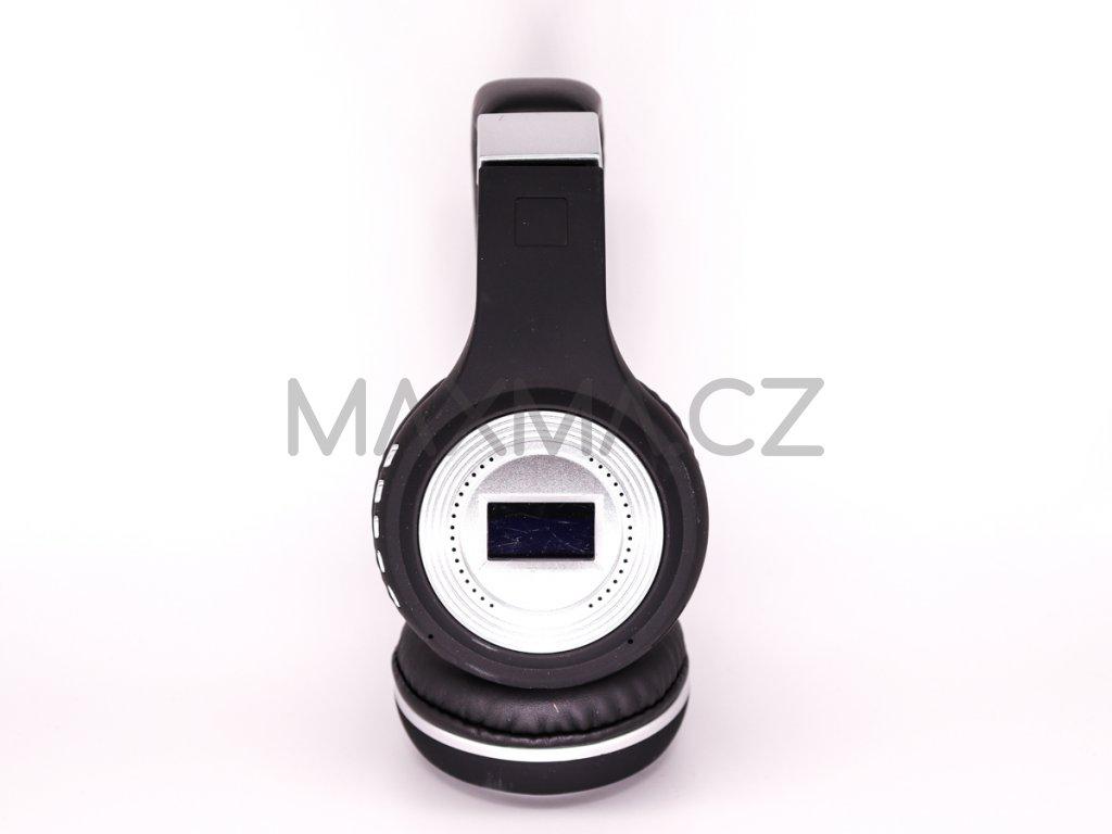 Bezdrátová sluchátka (471) - černá