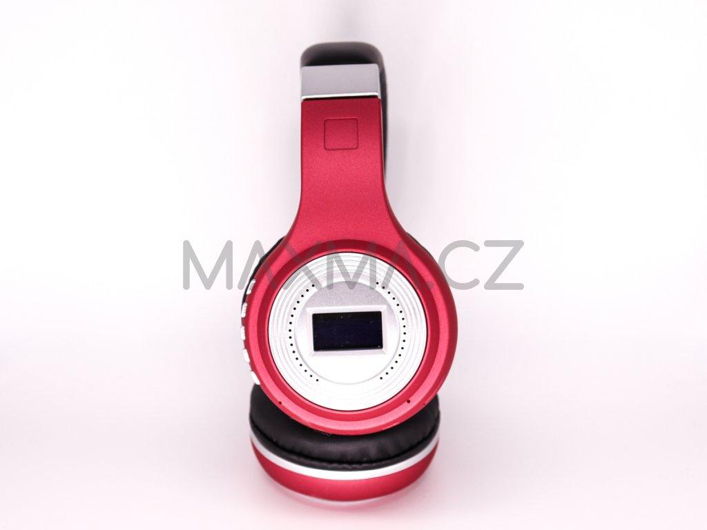 Bezdrátová sluchátka (471) - červená