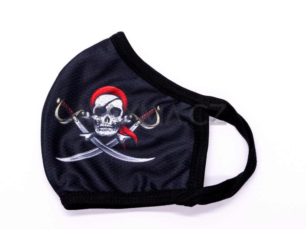Rouška Pirát