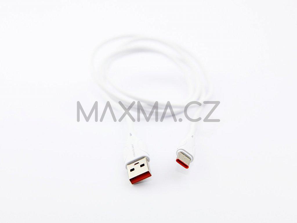 Kouvolsen kabel USB / USB-C (X19) 1m - bílý