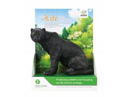 Animal Kingdom figurka zvířete Panter černý