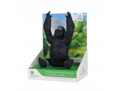 Zabawka Figurka Dzikie Zwierze Goryl New Canna