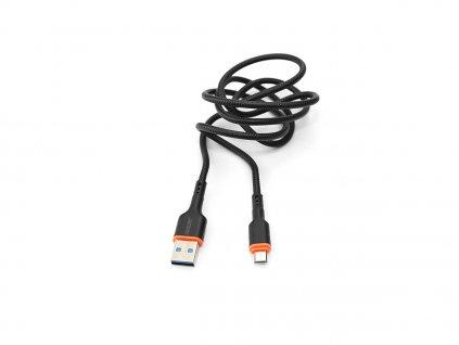 Kouvolsen kabel USB / micro-USB (X41) 1m - černý