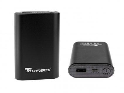 Techfuerza powerbanka 10400 mAh (Z-092) - černá