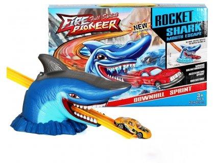 Fire full sprint pioneer autodráha se žralokem