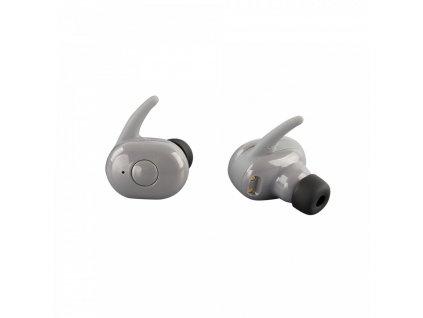 Bezdrátová bluetooth sluchátka TWS AKZ-W4 - Šedá