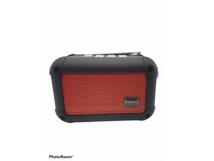 Kimiso Bluetooth reproduktor (KMS-E98) - červený