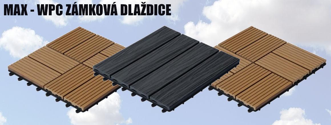 WPC skládací podlaha pro balkony