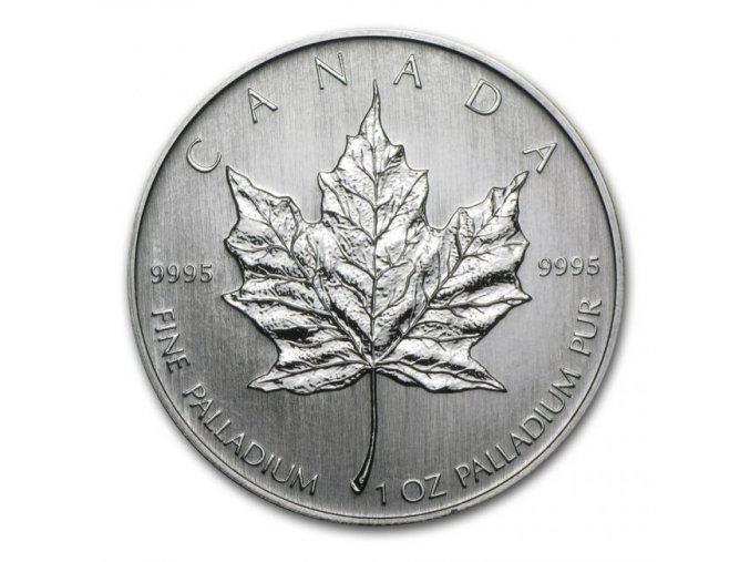 pall1 129056 royal canadian mint maple leaf palladiova mince 1 oz 2005 11515955